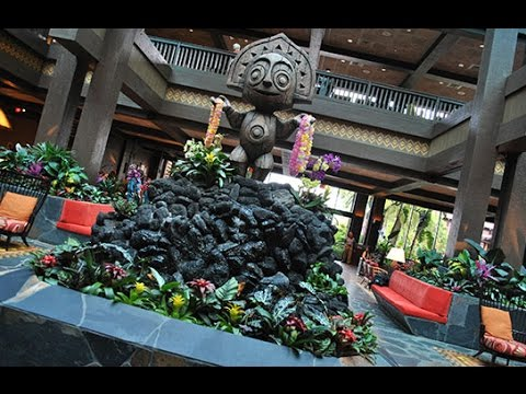 Disney's Polynesian Resort Music Loop (Full 3 Hour Edition) - DisneyAvenue.com