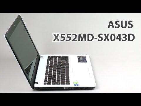 Обзор на ноутбук Asus X552MD