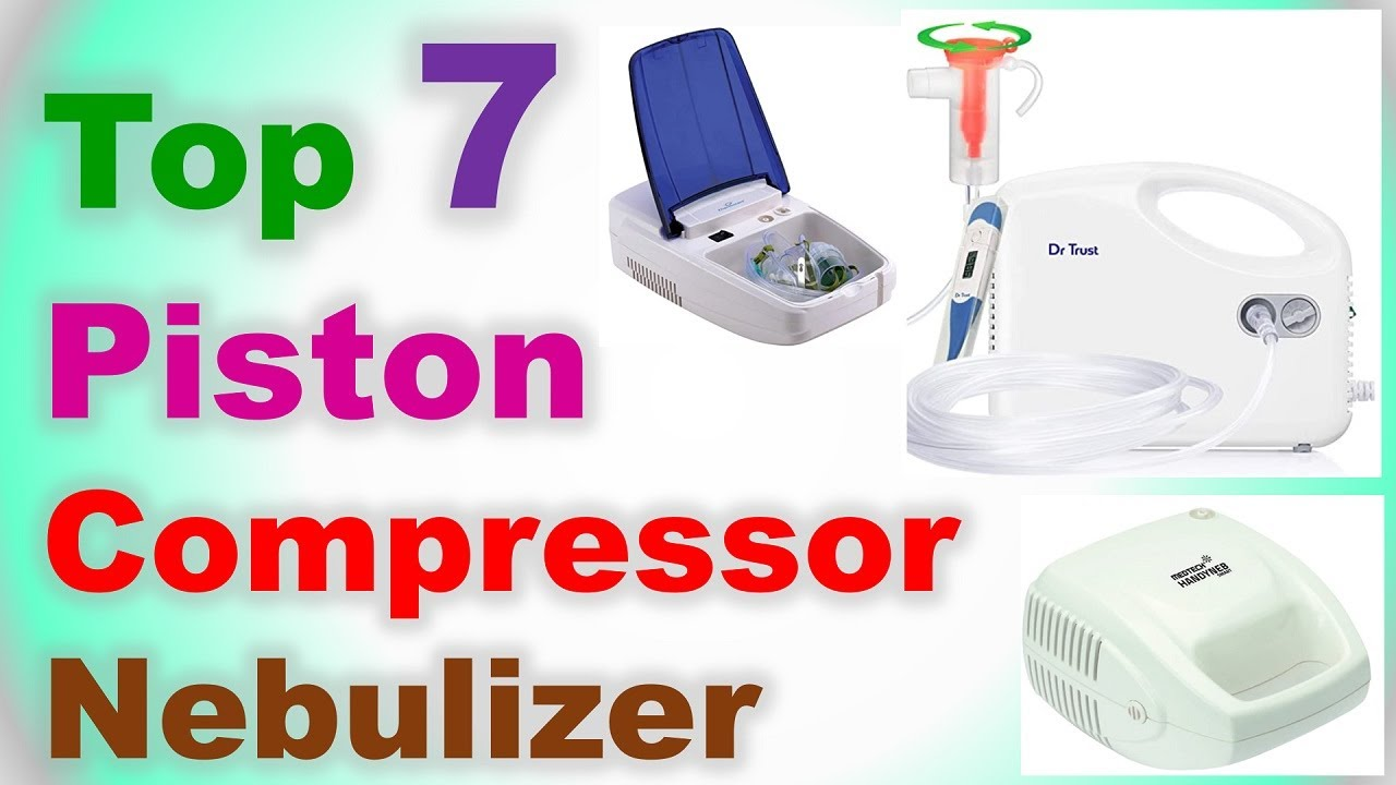 Top 7 Best Piston Compressor Nebulizer in India 2020 |Best Nebulizer Machine | Piston Type Nebulizer