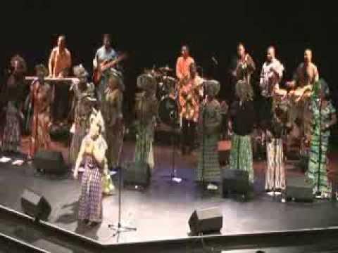 The Yoruba Women Choir Live Chichester Festival July 2011