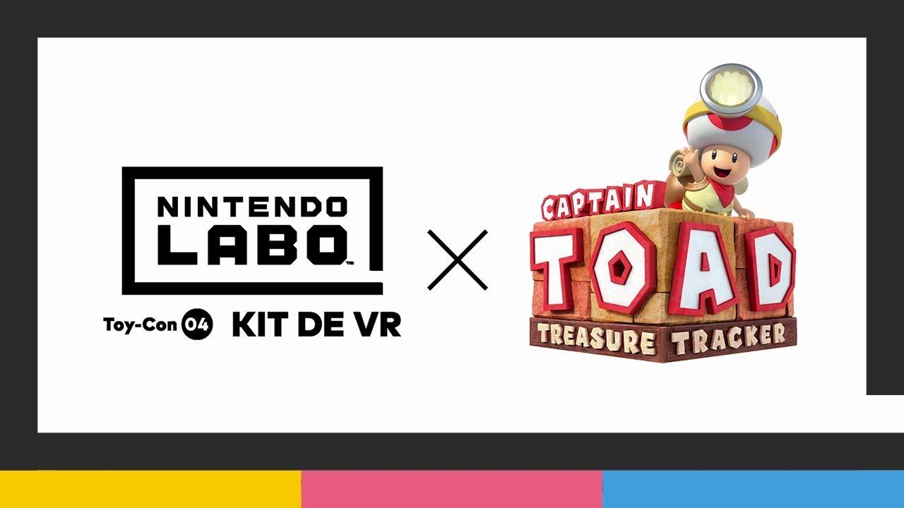 Nintendo Labo: kit de VR + Captain Toad: Treasure Tracker (Nintendo Switch)