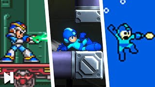 7 Mega Man Mechanics Keeping the Series FRESH | Game Bites