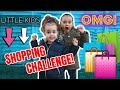 LITTLE KIDS CLOTHING SHOPPING CHALLENGE!!!👭
