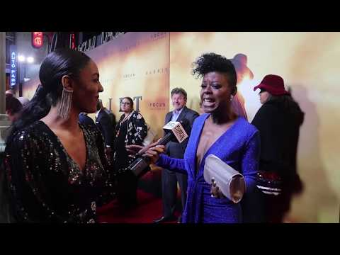 "Angie Wells Shares What ""Black Girl Magic"" Means To Her At HARRIET Premiere"