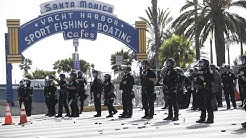 Santa Monica, Long Beach protests over George Floyd's death lead to looting, stores damaged   ABC7