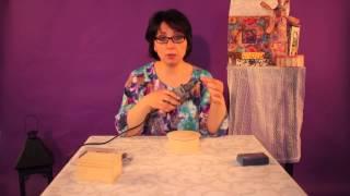 "Диана Январева. Видеоурок №3. ""Использование мини-дрели в декупаже"""