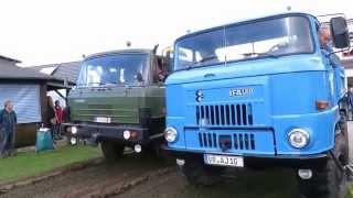 Tatra 815 festgefahren IFA L 60 zieht Stuck in Mud