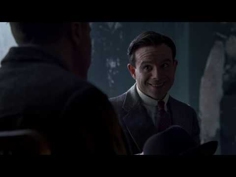 Boardwalk Empire season 2 - Jimmy Darmody discusses a business with Meyer Lansky and Lucky Luciano