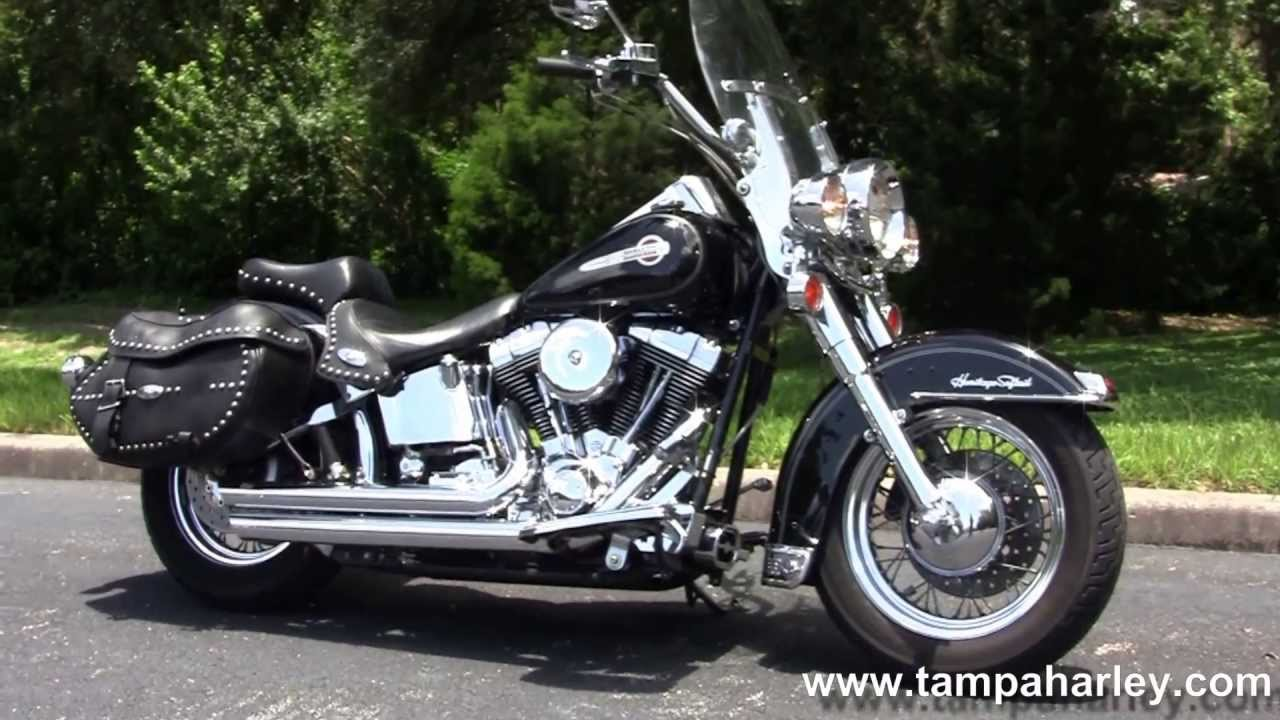 used 2004 harley davison flstc heritage softail classic bikes for sale usa youtube. Black Bedroom Furniture Sets. Home Design Ideas