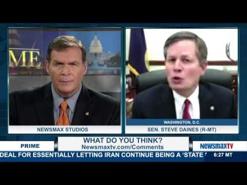 Newsmax Prime | Senator Steve Daines talks about the terrible treatment of our veterans