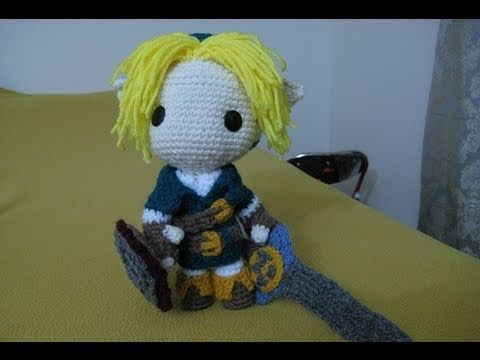 Amigurumi Boy Doll Pattern : How to make link sackboy! youtube
