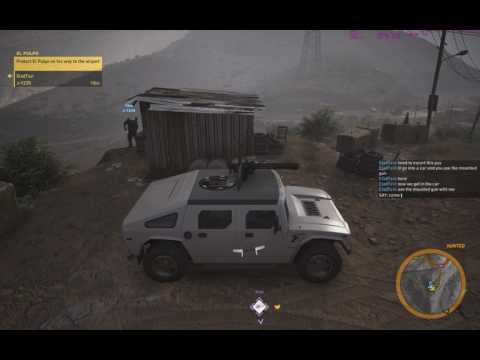 Wildlands - trying impossible solo El Pulpo bullshit mission with randoms proves to be torture