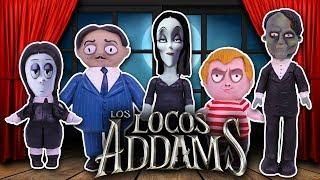 🏚 Los LOCOS ADAMS Película en Español 👻 Juguetes Fantásticos