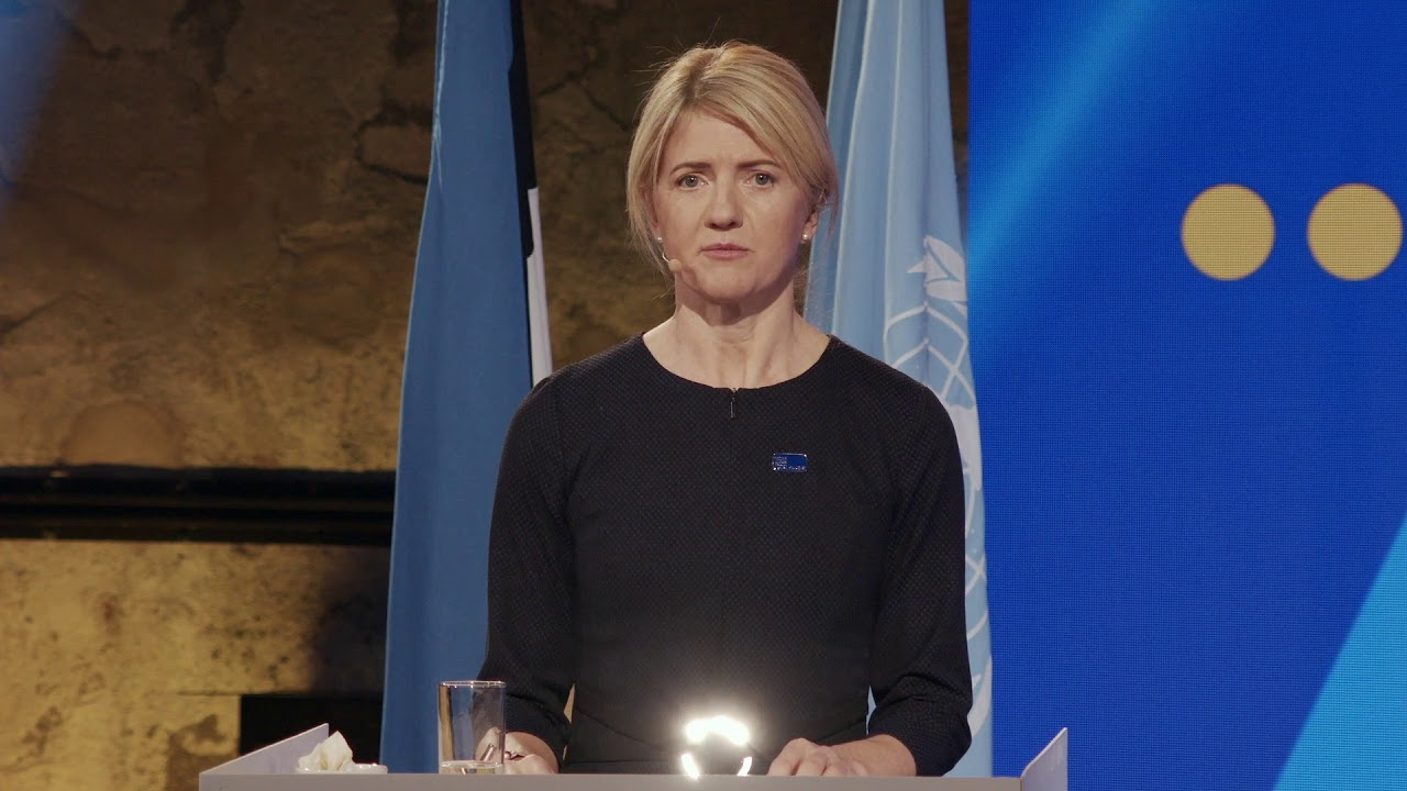 UN Security Council Arria meeting on Crimea / FM Eva-Maria Liimets