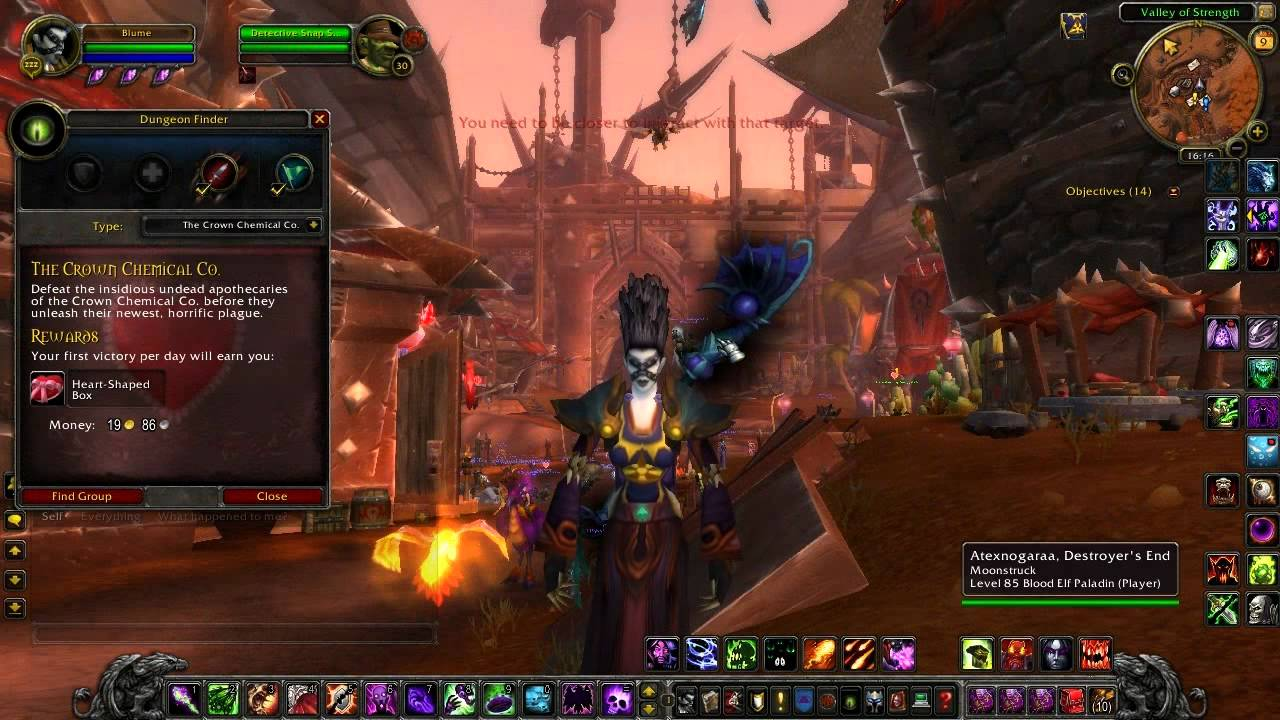 Valentines Day In World Of Warcraft With Love Is In The