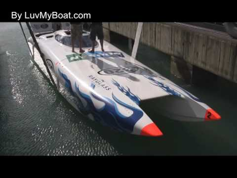 Launching of the New Doosan Offshore Powerboat 2009