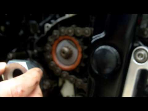 Yamaha fzs600 Front Sprocket Nut Replacement
