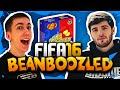 STUPID BEANBOOZLED SHOOTING CHALLENGE! With Josh