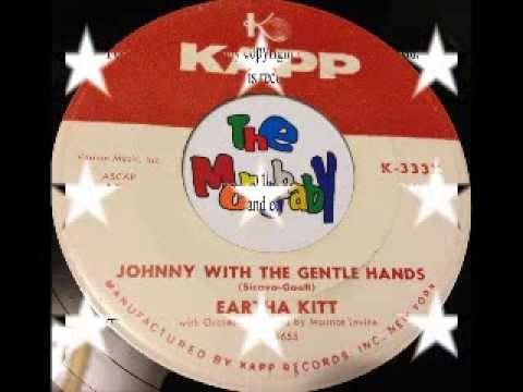 EARTHA KITT   JOHNNY WITH GENTLE HANDS