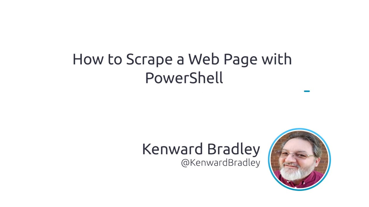 How To Scrape A Web Page With PowerShell