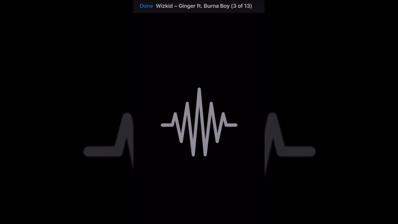 Wizkid - Ginger (Made in Lagos)  (Feat. Burna boy) Starboy