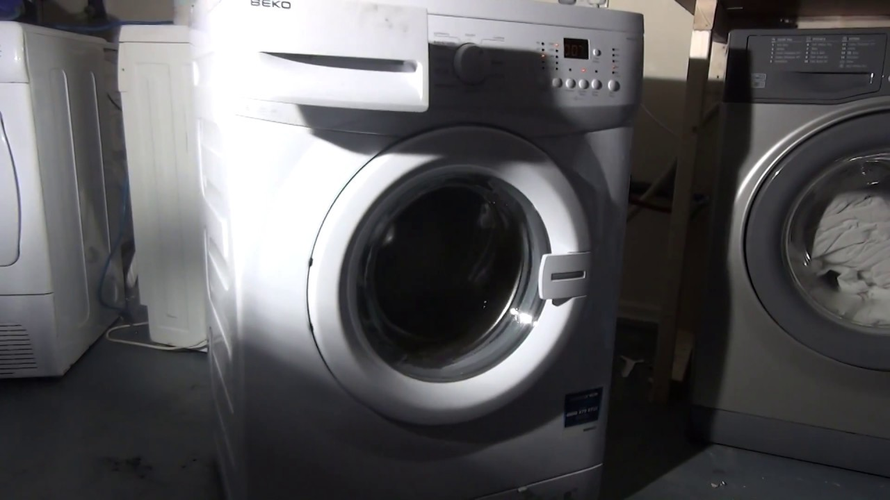 Lab Test : single item test with transit bolts in washing ...