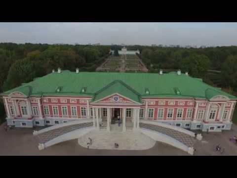 DJI Phantom @ Kuskovo mansion, Moscow, Russia