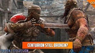 Is Centurion Still Too Strong?