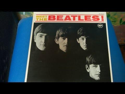 AR-8026 Meet The Beatles! Apple Records ミートザビートルズ レコード 東芝EMI