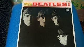 AR-8026 Meet The Beatles! Apple Records ミートザビートルズ レコード...