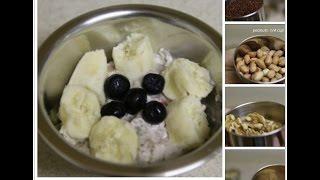 kids Healthy Breakfast Recipe||Ragi Porridge