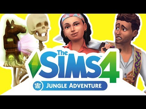 THE SIMS 4 JUNGLE ADVENTURE | First Look at Gameplay! (Official Livestream Recap)