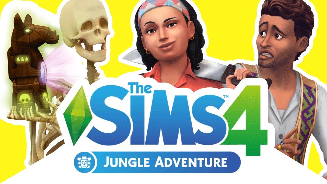 the sims 4 jungle adventure first look at gameplay. Black Bedroom Furniture Sets. Home Design Ideas