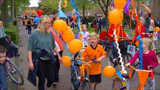 Oranje optocht Dalfsen 2018