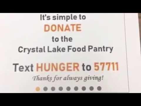 Crystal Lake Food Pantry Youtube