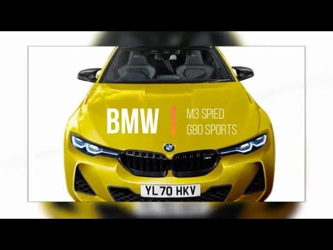 See What Look Like New BMW M3 G380 2020