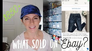 $850 in Sales from 18 Items! What Sold on eBay? Tips & Tricks to Find Profitable Items That Sell!