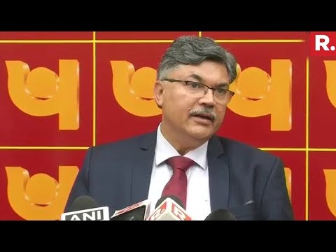 PNB Bank MD Sunil Mehta Speaks On Nirav Modi Scam | Full Press Conference