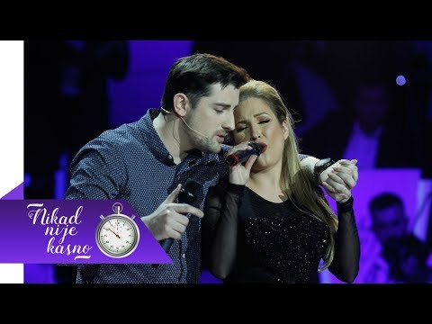 Mirza Selimovic i Dunja Vujadinovic - Da se opet rodim - (live) - NNK - EM 21 - 10.02.2019
