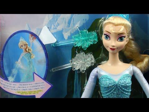 Ice Power Elsa / Mroźna Księżniczka Elsa - Mattel - CGH15 - MegaDyskont.pl
