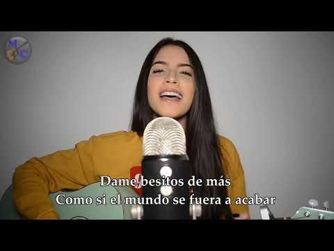 ZHAMIRA ZAMBRANO DURO Y SUAVE (Leslie Grace, Noriel COVER) VIDEO CON LETRA