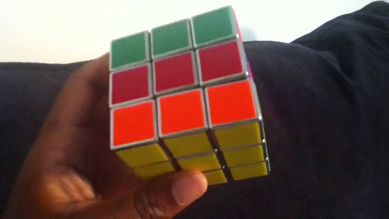 metal 3x3x3 cube with