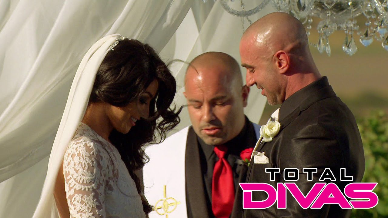 Eva Marie gets married Total Divas Oct 26 2014 YouTube