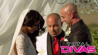 Eva Marie gets married: Total Divas, Oct. 26, 2014