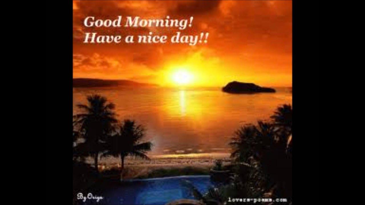Good Morning song - YouTube