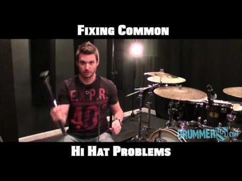 Drummer101.com: Fixing common hi hat problems