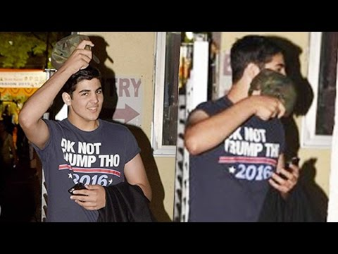 Akshay Kumar's Son Aarav Playing Hide & Seek With Media | Bollywood Buzz