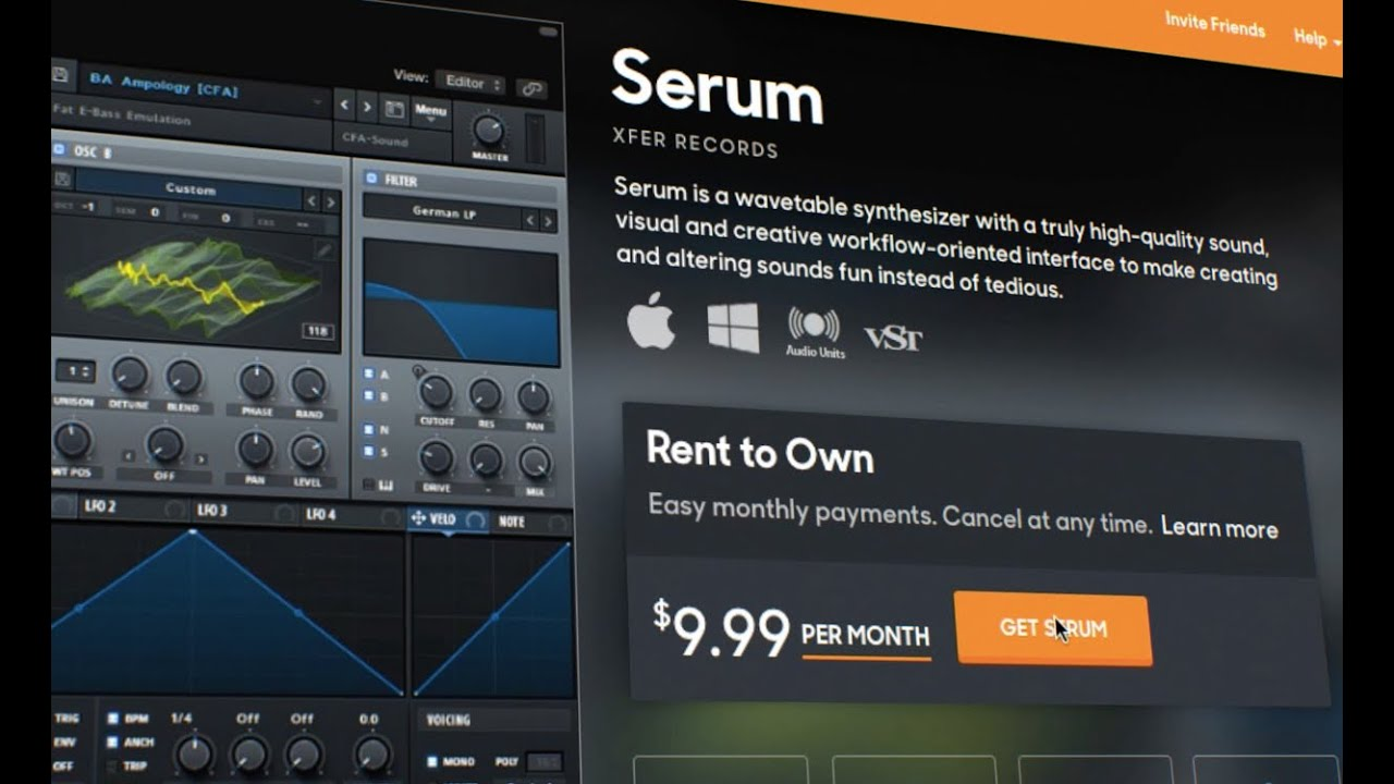 Serum by Xfer Records - Rent-to-Own