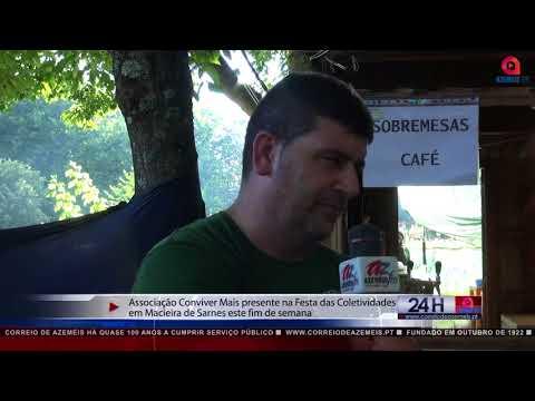 Macieira de Sarnes - Festa reuniu todas as coletividades da freguesia