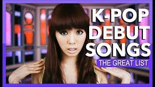 Video GREAT K-POP DEBUT SONGS download MP3, 3GP, MP4, WEBM, AVI, FLV Mei 2018